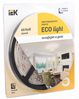 Лента LED 5м  блистер LSR-3528WW60-4.8-IP65-12V IEK-eco