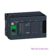Базовый блок m241-24io транзист источник ethernet Schneider Electric купить с доставкой фото 2