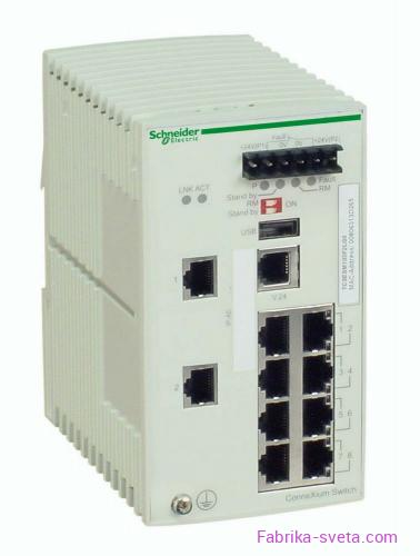 Коммутатор connexium (managed) 8tx/2sfp Schneider Electric купить с доставкой фото 3