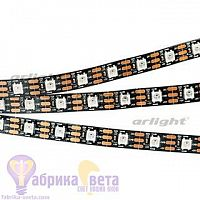 Лента SPI-5000-AM 5V RGB (5060, 300 LED x1, 2812, Black)