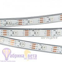 Лента SPI-5000P-AM 5V RGB (5060, 150 LED x1, 2812)